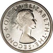 2 shillings - Elizabeth II – avers
