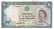 5 pounds 1961 – avers