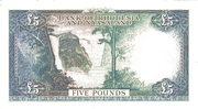 5 pounds 1961 – revers