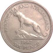 6 pence - Elizabeth II – revers
