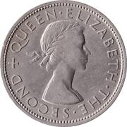 ½ couronne - Elizabeth II – avers