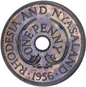 1 penny - Elizabeth II – revers