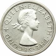 ½ crown - Elizabeth II – avers