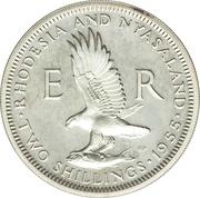 2 shillings - Elizabeth II – revers