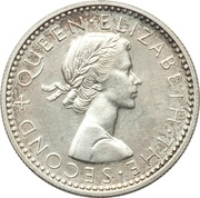 6 Pence - Elizabeth II – avers