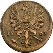 4 Pfennig - Maximilian Ulrich von Kaunitz – avers