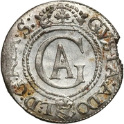 1 solidus Gustave II Adolphe – avers