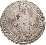 1 dalderi Gustave II Adolphe (regarder devant) – avers