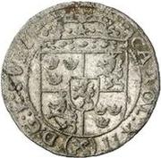 3 polker Charles XII (lion au centre) – avers