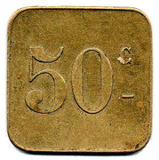 50 Centimes Pont-sur-Saulx ROBERT-ESPAGNE 55 – revers