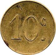 10 Centimes Pont-surSaulx ROBERT-ESPAGNE 55 – revers