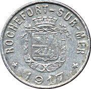 5 Centimes - Syndicat du Commerce & de l'Industrie - Rochefort-sur-Mer (17) – avers