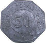 50 Pfennig - Rodach (Max Roesler A.G.) – revers