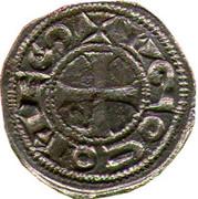 Denier - Hugues II et Hugues III (comtes de Rodez) – avers