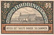 50 Pfennig (Rödding) – revers