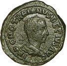 Sesterce - Trajan Dèce (PMS COL VIM AN XII, Viminacium) – avers