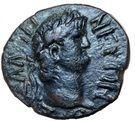 Dupondius - Néron (AΡIΣTIΩNOΣ ΣTΡATHΓOY, Apollon, Thessalie) – avers