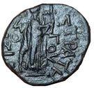 Dupondius - Néron (AΡIΣTIΩNOΣ ΣTΡATHΓOY, Apollon, Thessalie) – revers
