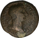 Tetradrachm - Trajan (Agathodaemon Serpent) – avers