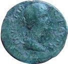 "Assarion - Faustine II ""la Jeune"" (HOMONOIA, Hadrianopolis) – avers"