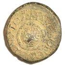AE 23 - Claudius (Macedonia - TI KΛAYΔIOΣ KAIΣAP, Macedonian Shield) – revers