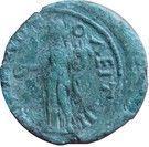 """Assarion - Faustine II """"la Jeune"""" (HOMONOIA, Hadrianopolis) – revers"""
