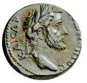 Ae 20 - Antoninus Pius -Macedonia -  avers