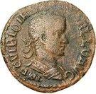 Sesterce - Trébonien Galle - Viminacium (Mésie supérieure) – avers