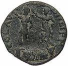 As - Domitien (Philippes, Macédoine) – revers