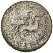 AE 26 Koinon of Macedonia -  avers