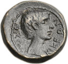 As (Octavius and Julius Caesar; Macedonia) – revers