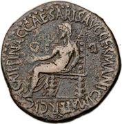 Sestertius - Caligula (Bithynia) – revers