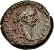 Diobol-Domitien ,Zeus Ammon (Alexandrie ) – avers