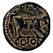 Bronze d'Elagabal - PETRA COLONI -  avers