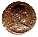 AE 23 Caracalla - Stobi. – avers
