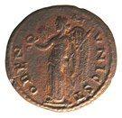 AE 23 Caracalla - Stobi. – revers