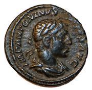 Denarius - Elagabalus (INVICTVS SACERDOS AVG Barbarous imitation) -  avers