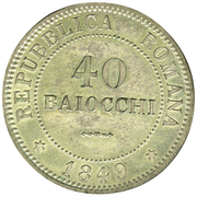 40 baiocchi – revers