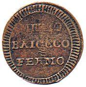 ½ baiocco – revers