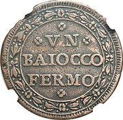 1 baiocco – revers