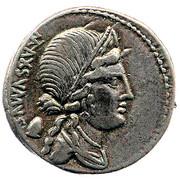 Denier (Egnatii : Caius Egnatius Maxsumus, C EGNATIVS CN F CN N) -  avers