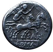 Denarius (M. Atilius Saranus) – revers