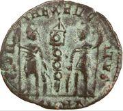 Follis - Constantin II (CONSTANTINOPOLI / GLORIA EXERCITVS, Héraclée) – revers