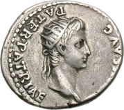 Denarius - Caligula (DIVVS AVG PATER PATRIAE) -  revers
