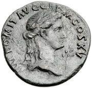 Semis - Domitien (SC, corbeau, atelier de Rome) – avers