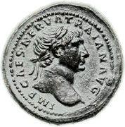 Quadrans Trajan (S C, Loup) -  avers