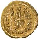 Solidus - Zénon (VICTORIA AVGGG, Constantinople) – revers