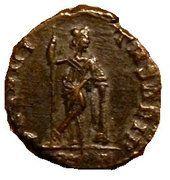 Follis - Constant Ier (SECVRITAS REIP, Rome) – revers