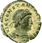Follis - Constantin II - VIRTVS AVGVSTI (Rome) – avers