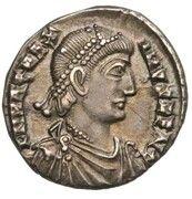 Silique - Magnus Maximus (VIRTVS ROMANORVM ; Trèves) -  avers